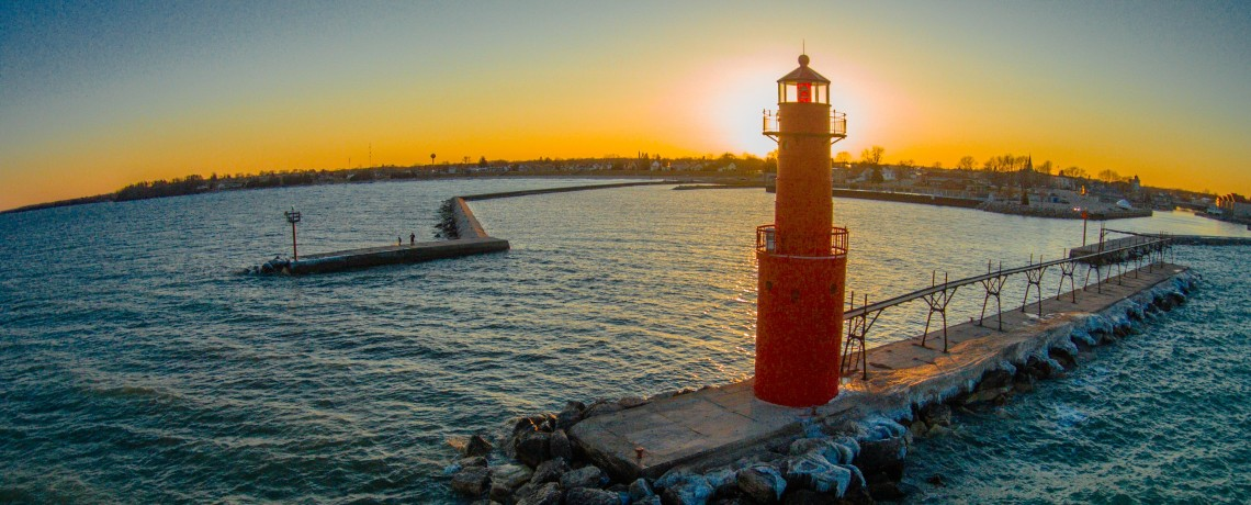 Algoma Pierhead Lighthouse