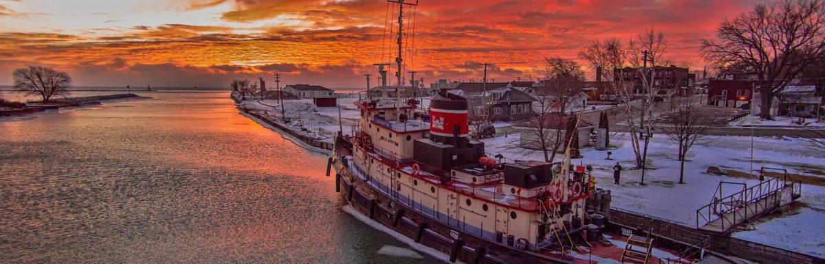 Tugboat Sunrise